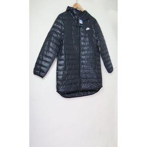 NWT Nike navy 550 lightweight down jacket coat